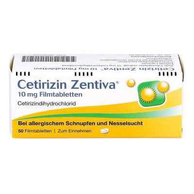 Cetirizin Zentiva 10mg  bei apo-discounter.de bestellen
