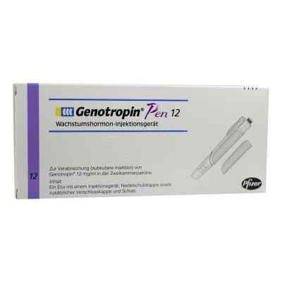 Genotropin Pen 12 mg bunt  bei apo-discounter.de bestellen