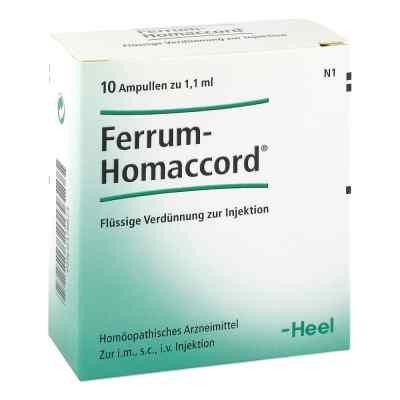 Ferrum Homaccord Ampullen  bei apo-discounter.de bestellen