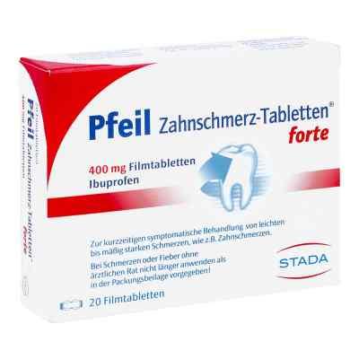 Pfeil Zahnschmerz-Tabletten forte 400mg  bei bioapotheke.de bestellen