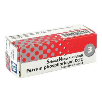 Schuckmineral Globuli 3 Ferrum phosphoricum D12  bei apo-discounter.de bestellen
