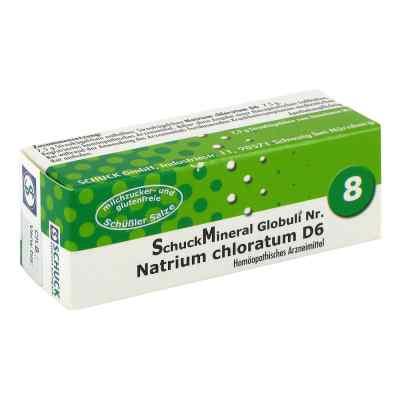 Schuckmineral Globuli 8 Natrium chloratum D6  bei apo-discounter.de bestellen