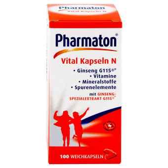 Pharmaton Vital Kapseln N  bei apo-discounter.de bestellen