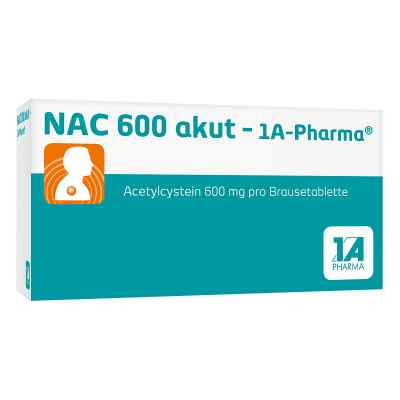NAC 600 akut-1A Pharma  bei apo-discounter.de bestellen