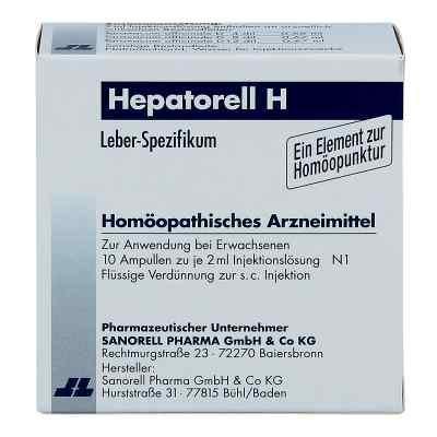 Hepatorell H Ampullen  bei apo-discounter.de bestellen