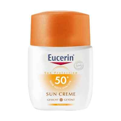 Eucerin Sun Creme Lsf 50+ getönt