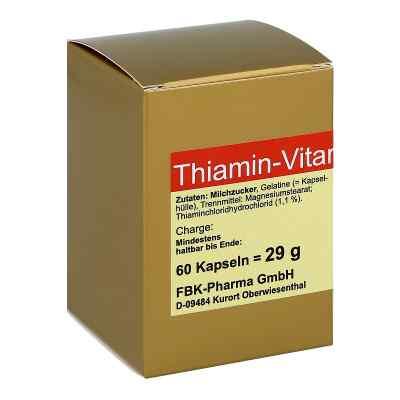 Thiamin Kapseln Vitamin B1  bei apo-discounter.de bestellen