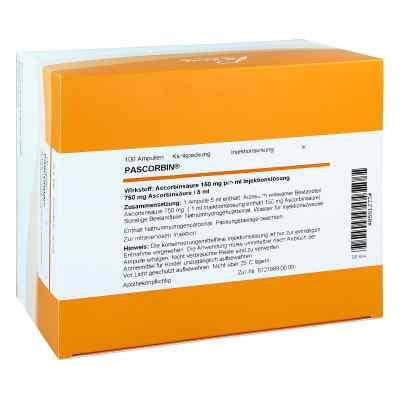 Pascorbin 750 mg Ascorbinsäure/5ml iniecto -lösung  bei apo-discounter.de bestellen