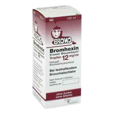 Bromhexin Krewel Meuselbach 12mg/ml  bei apo-discounter.de bestellen