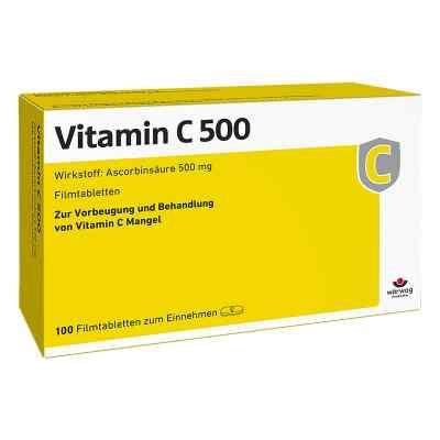 Vitamin C 500 Filmtabletten  bei apo-discounter.de bestellen