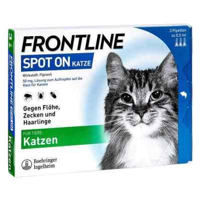 Frontline Spot on K veterinär  Lösung  bei bioapotheke.de bestellen