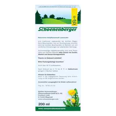 Löwenzahn Saft Schoenenberger  bei apo-discounter.de bestellen