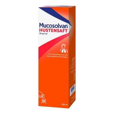 Mucosolvan Hustensaft 30mg/5ml Schleimlöser bei Husten  bei apo-discounter.de bestellen