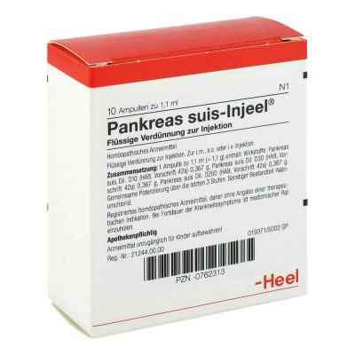 Pankreas Suis Injeel Ampullen  bei apo-discounter.de bestellen