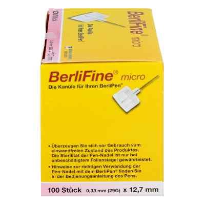 Berlifine micro Kanülen 0,33x12,7 mm  bei apo-discounter.de bestellen