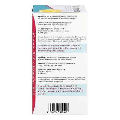 Chlorella 500 mg Bio Naturland Tabletten  bei apo-discounter.de bestellen