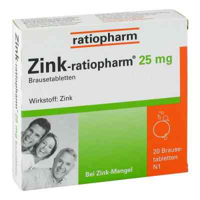 Zink-ratiopharm 25mg