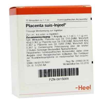 Placenta Suis Injeel Ampullen  bei apo-discounter.de bestellen