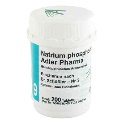 Biochemie Adler 9 Natrium phosphoricum D 6 Adl.ph. Tabletten   bei apo-discounter.de bestellen