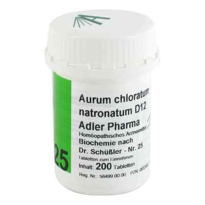 Biochemie Adler 25 Aurum chlor.natr.D12 Tabletten  bei apo-discounter.de bestellen