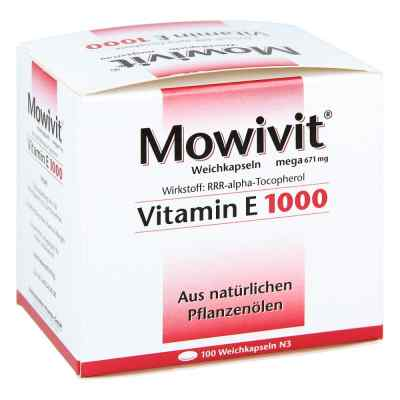 Mowivit Vitamin E 1000 Kapseln  bei apo-discounter.de bestellen
