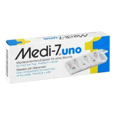 Medi 7 Uno Medikamenten Dosierer für 7 Tage  bei apo-discounter.de bestellen