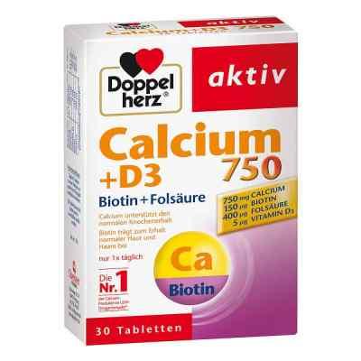 Doppelherz Calcium 750 + D3 + Biotin Tabletten