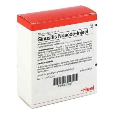 Sinusitis Nosode Injeel Ampullen  bei apo-discounter.de bestellen
