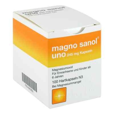 Magno Sanol uno 245 mg Hartkapseln  bei apo-discounter.de bestellen