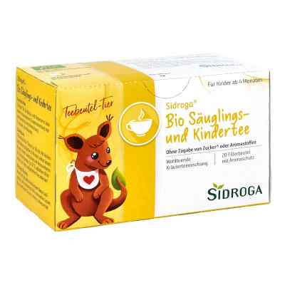 Sidroga Bio Säuglings- und Kindertee Filterbeutel  bei bioapotheke.de bestellen