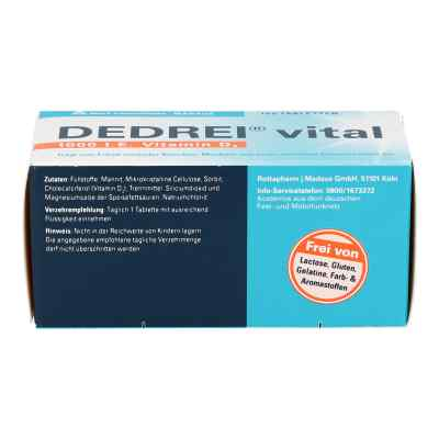 Dedrei vital Tabletten  bei apo-discounter.de bestellen