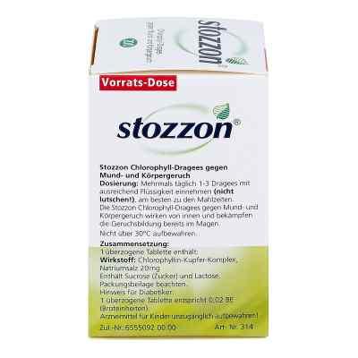 Stozzon Chlorophyll-Dragees gegen Mund- und Körpergeruch  bei apo-discounter.de bestellen
