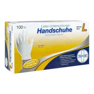 Handschuhe Einmal Latex puderfrei L  bei apo-discounter.de bestellen