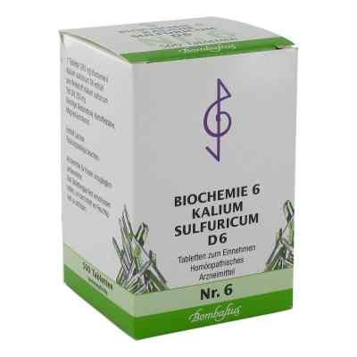 Biochemie 6 Kalium sulfuricum D 6 Tabletten  bei apo-discounter.de bestellen