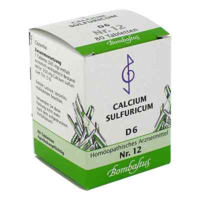 Biochemie 12 Calcium sulfuricum D6 Tabletten  bei apo-discounter.de bestellen