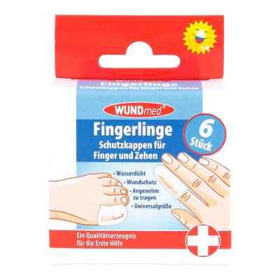 Fingerlinge Schutzkappen für Finger und Zehen