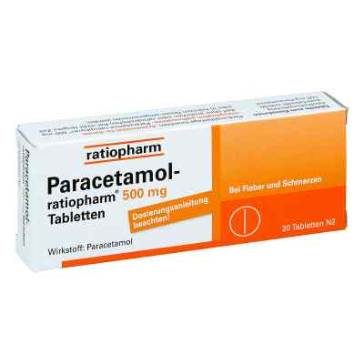 Paracetamol-ratiopharm 500mg  bei bioapotheke.de bestellen