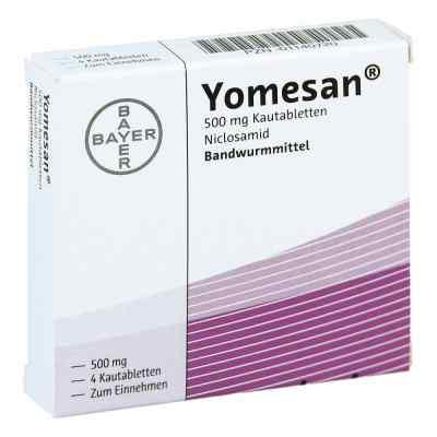 Yomesan 500 mg Kautabletten  bei apo-discounter.de bestellen