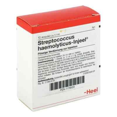 Streptococcus Haemolyticus Injeel Ampullen  bei apo-discounter.de bestellen