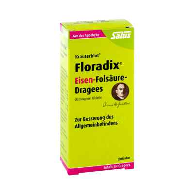 Floradix Eisen-Folsäure-Dragees