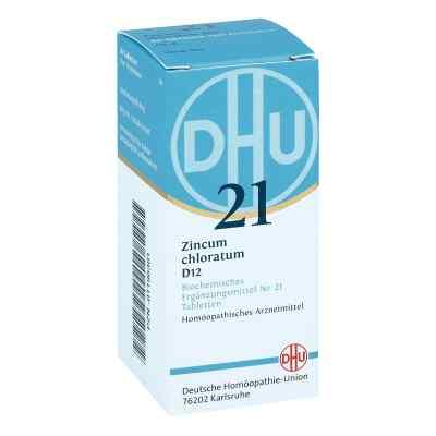 Biochemie Dhu 21 Zincum chloratum D12 Tabletten  bei apo-discounter.de bestellen