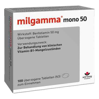 Milgamma mono 50 überzogene Tabletten  bei apo-discounter.de bestellen