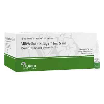 Milchsäure Pflüger Injektionslösung 5 ml  bei bioapotheke.de bestellen