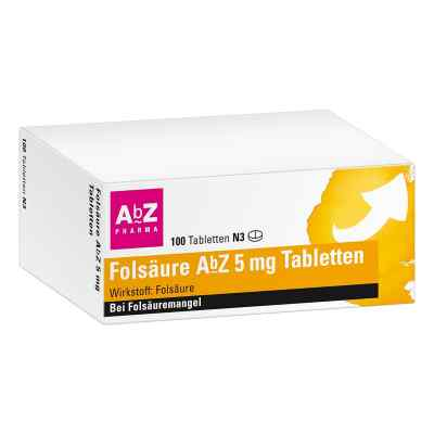 Folsäure Abz 5 mg Tabletten  bei apo-discounter.de bestellen