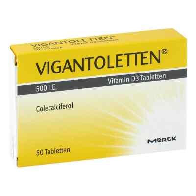 Vigantoletten 500 I.e. Vitamin D3 Tabletten  bei apo-discounter.de bestellen