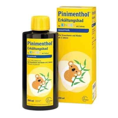 Pinimenthol Erkältungsbad für Kinder ab 2 Jahren Eucalyptus  bei bioapotheke.de bestellen