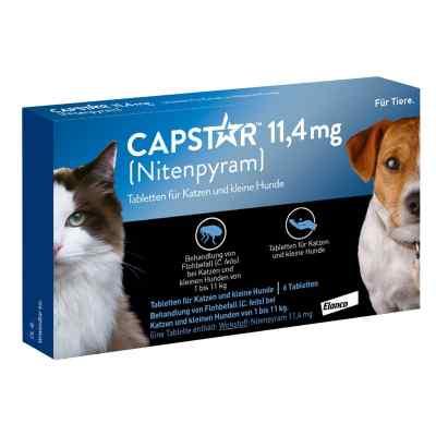 Capstar 11,4 mg für Katzen  und kleine Hunde Tabletten  bei apo-discounter.de bestellen