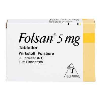 Folsan 5 mg Tabletten  bei apo-discounter.de bestellen