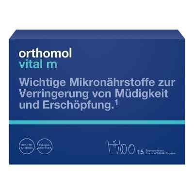 Orthomol Vital M 15 Granulat/kaps.kombipackung  bei apo-discounter.de bestellen