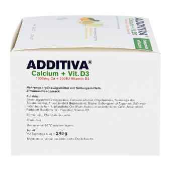 Additiva Calcium 1000 mg + Vitamine d 3 Pulver  bei apo-discounter.de bestellen